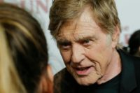 """Retire? Maybe not yet, Hollywood icon Robert Redford says at the New York premier of his latest - perhaps last - film """"The Old Man & the Gun"""""""