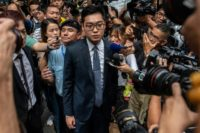 Andy Chan's Hong Kong National Party has now been banned by the city's authorities