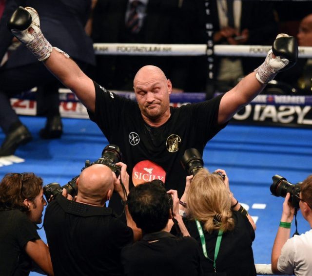 Fury, Wilder To Fight December 1: Promoter