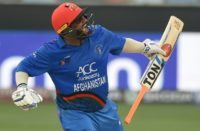 Afghan batsman Mohammad Shahzad enjoyed reaching his century against India