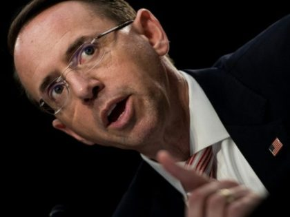 President Donald Trump said that a meeting between him and deputy attorney general Rod Rosenstein may be postponed