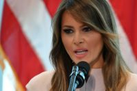 Melania Trump Flight Turns Back After Smoke Fills Cabin