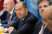 Russian Foreign Minister Sergei Lavrov told the United Nations Security Council that it was time to send a positive signal to North Korea