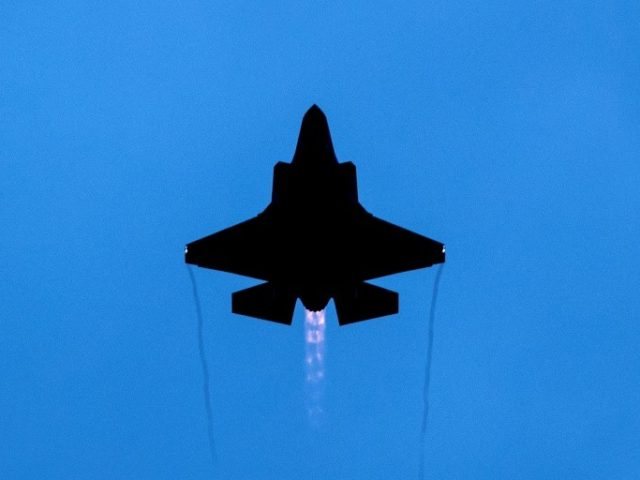 US F-35 fighters fly first ever combat mission