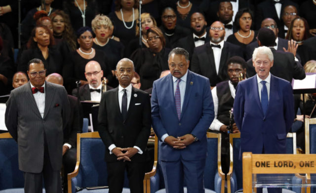 Calls for respect for black America at Franklin funeral