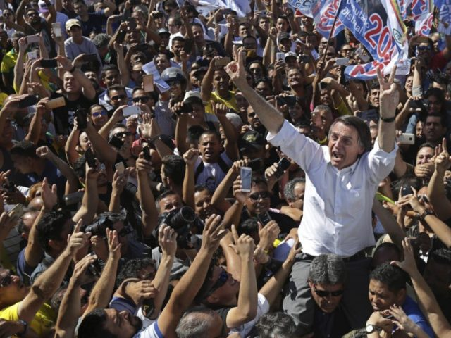 In Brazil, the leader of presidential race at a rally stabbed