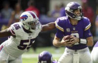 Bills stun Vikings 27-6 in rookie Allen's 1st road start