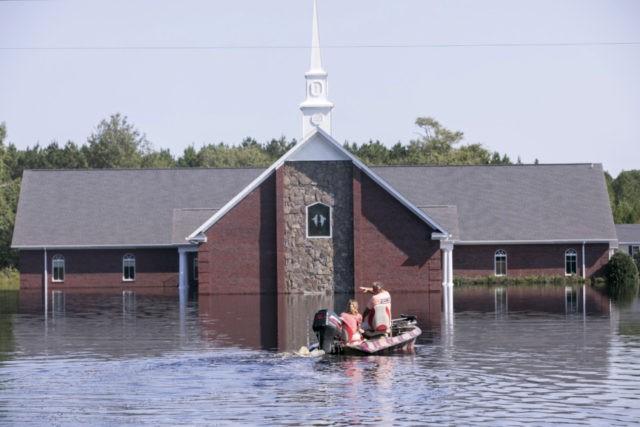 Florence: Severe flooding feared near South Carolina coast
