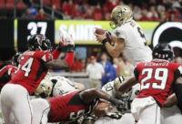 Drew Brees' TD run in OT lifts Saints past Falcons 43-37