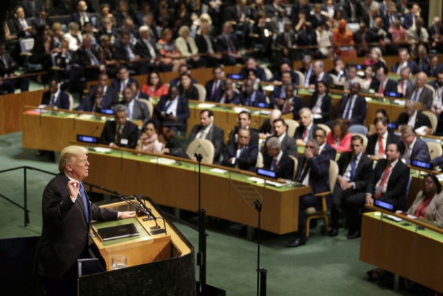 Donald Trump calls for isolating Iran at UNGA speech