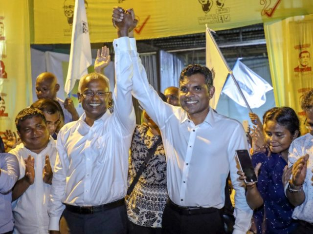 Maldives opposition leader declares victory in election