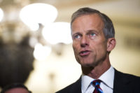 Thune: 'Not a Big Fan' of Reallocating Money for Wall