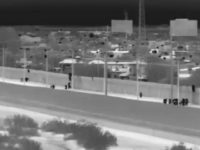 Yuma Sector Border Patrol agents apprehend 108 migrants in single border crossing. (Photo: U.S. Border Patrol/Yuma Sector)