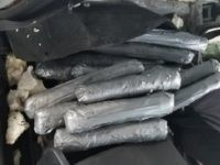 $1.4 million worth of meth seized by Freer Station Border Patrol agents at the immigration checkpoint on U.S. Highway 59. (Photo: U.S. Border Patrol/Laredo Sector)