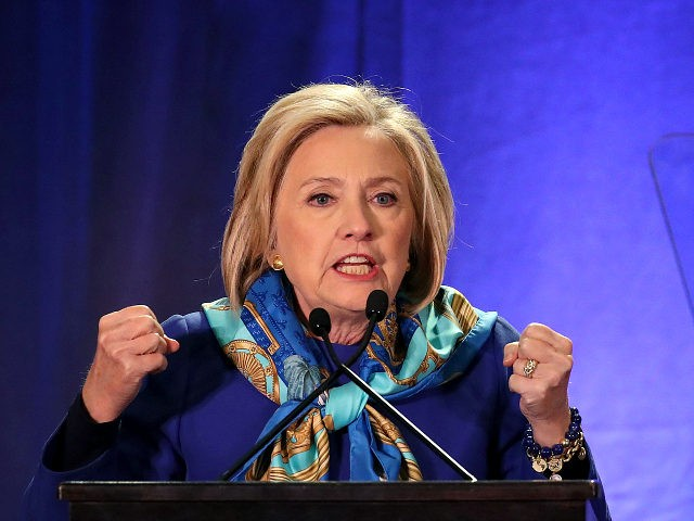 NEW YORK NY- APRIL 27 Former U.S. Secretary of State Hillary Clinton delivers the keynote address at the Regional Plan Association annual assembly in Midtown Manhattan