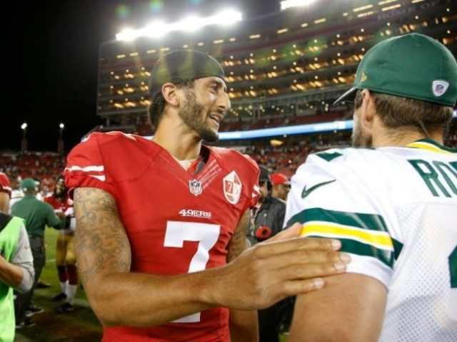 7c132130f7f 49ers Remove Kaepernick from Photo Gallery of Greatest Moments Against  Packers. 12