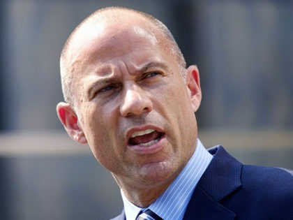 FILE - In this July 27, 2018 file photo, Michael Avenatti, the attorney for porn actress Stormy Daniels, talks to the media during a news conference in front of the U.S. Federal Courthouse in Los Angeles. In Washington and early battleground states, Michael Avenatti is pitching himself as a Democrat …