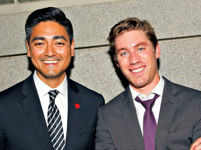 Aftab Pureval, left, is running against Rep. Steve Chabot in OH-01.