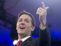 US Senator Ben Sasse, Republican of Nebraska, speaks during the annual Conservative Political Action Conference (CPAC) 2016 at National Harbor in Oxon Hill, Maryland, outside Washington, March 3, 2016. Republican activists, organizers and voters gather for the Conservative Political Action Conference at a critical moment for the Republican Party as …