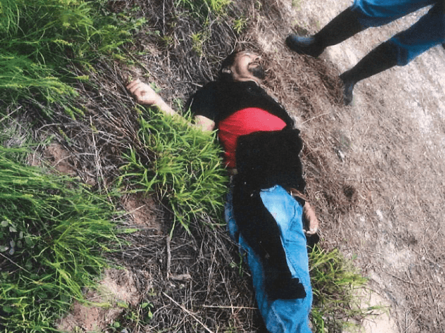 Body of Jose Valtierra Alvizo in Brooks County. (Photo: Brooks County Sheriff's Office)