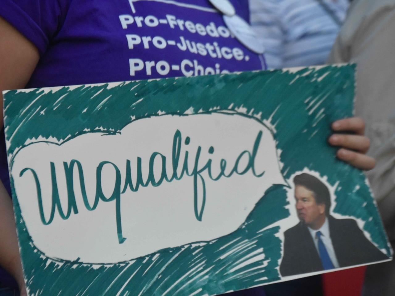Brett Kavanaugh protest 2 (Penny Starr / Breitbart News)