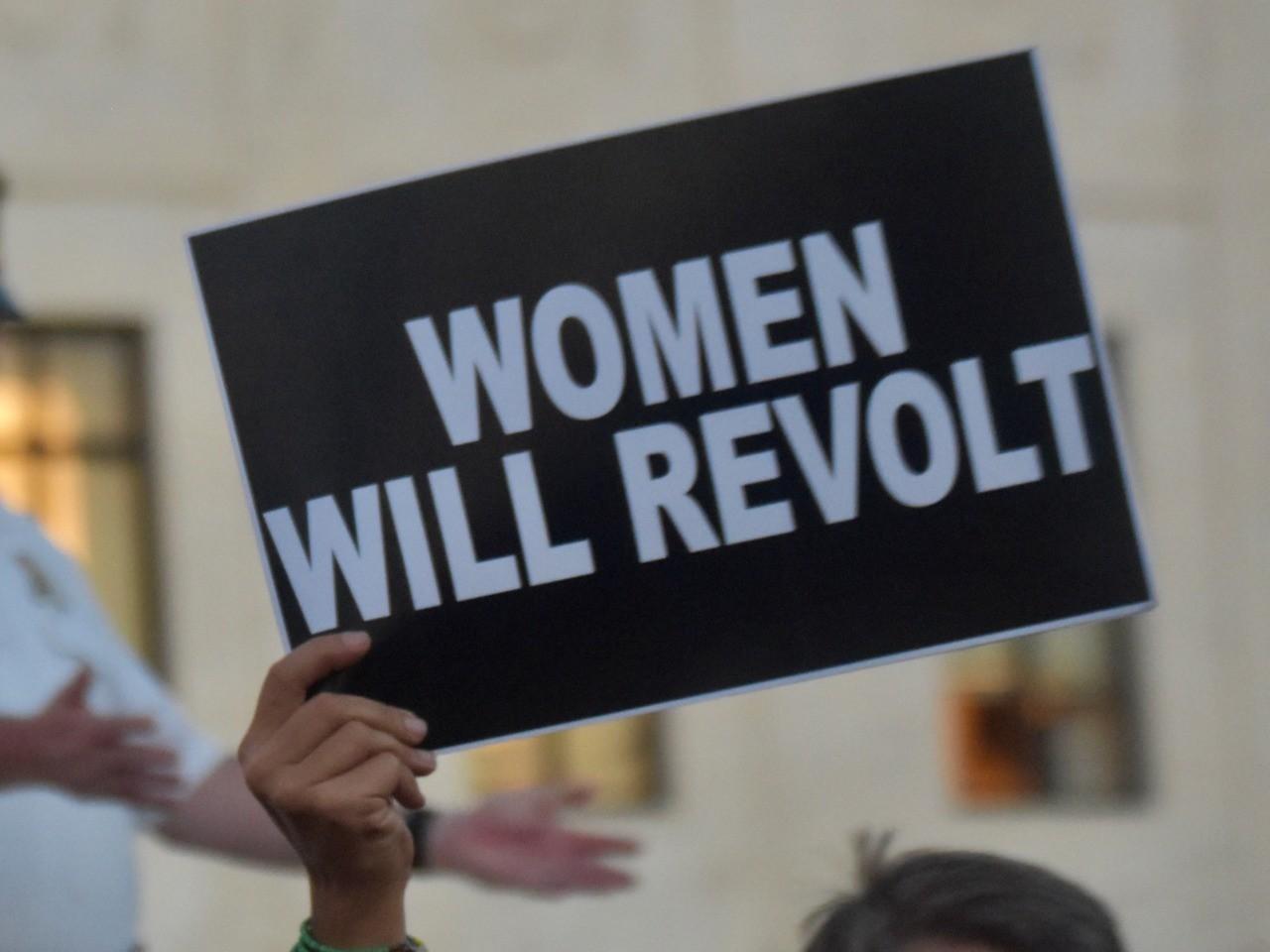 Brett Kavanaugh protest 3 (Penny Starr / Breitbart News)