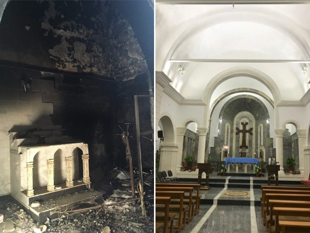 Church Before and After