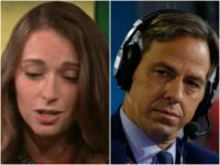 Combo of Julia Ioffe and Jake Tapper