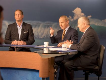 Dana Rohrabacher - Harley Rouda Debate (Courtesy Inside OC with Rick Reiff)