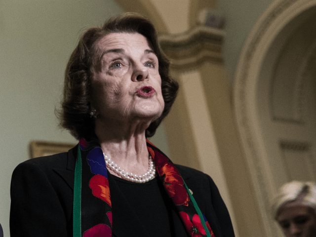 Dianne Feinstein Busted Not Wearing Mask After Demanding Mask Mandate