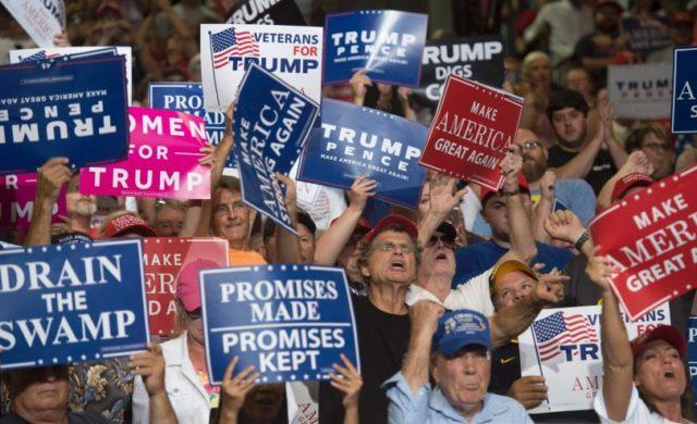 GOP Enthusiasm, Trump Popularity