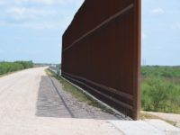 Gap in the border wall in the Rio Grande Valley Sector near Mission, Texas. (File Photo: Bob Price/Breitbart Texas)
