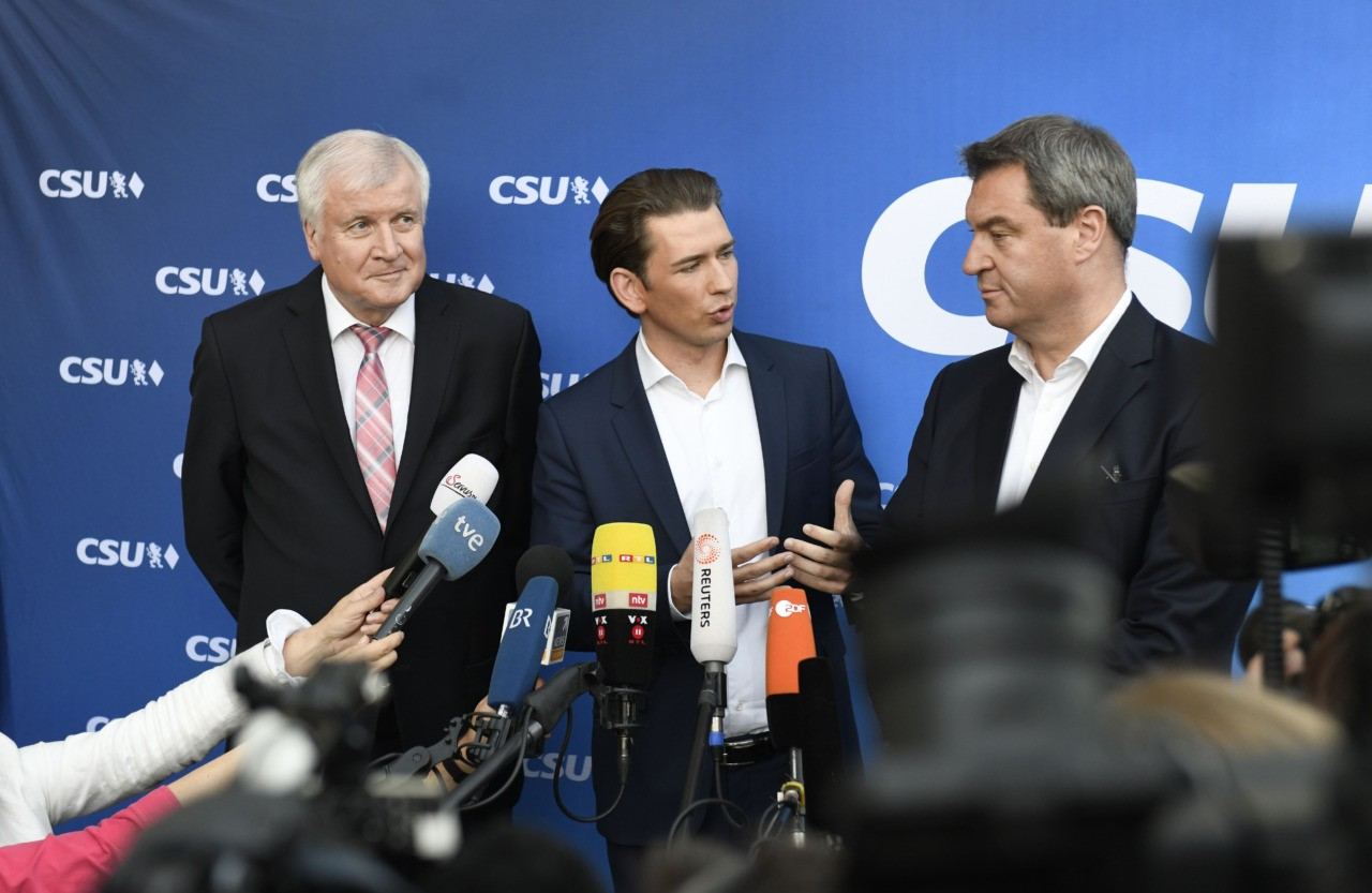 Merkel's Bavarian allies lose absolute majority