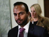 WASHINGTON, DC - OCTOBER 25: Former Trump campaign adviser George Papadopoulos arrives at a closed-door hearing before the House Judiciary and Oversight Committee October 25, 2018 at Rayburn House Office Building on Capitol in Washington, DC. Papadopoulos, who pledged guilty for lying to investigators in the special counsel Robert Mueller …