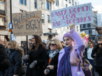 Trump Feminist Protest London UK