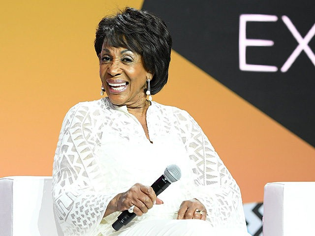 NEW ORLEANS, LA - JULY 06: Maxine Waters speaks onstage during the 2018 Essence Festival presented by Coca-Cola at Ernest N. Morial Convention Center on July 6, 2018 in New Orleans, Louisiana. (Photo by Paras Griffin/Getty Images for Essence)