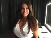 Kimberly Guilfoyle backstage (Joel Pollak / Breitbart News)