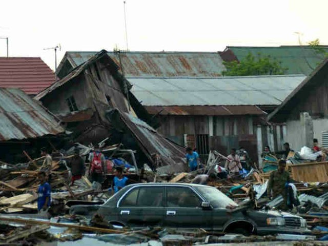 Amid Palu's levelled trees, overturned cars, concertinaed homes and flotsam tossed up to 50 metres inland, residents and rescuers struggled to come to grips with the scale of the disaster