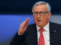 MADRID, SPAIN - OCTOBER 22: European Commission President Jean-Claude Juncker speaks during the plenary session of the European People's Party (EPP) Congress on October 22, 2015 in Madrid, Spain. Madrid is hosting the European People's Party (EPP) for two days of congress, gathering conservative parties from across Europe and 14 …