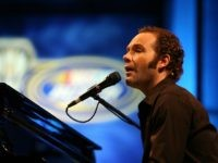 ORLANDO, FL - DECEMBER 07: Performing artist John Ondrasik of the group Five For Fighting performs during the NASCAR Busch Series Awards Banquet at Portofino Bay Hotel on December 7, 2007 in Orlando, Florida. (Photo by Doug Benc/Getty Images)