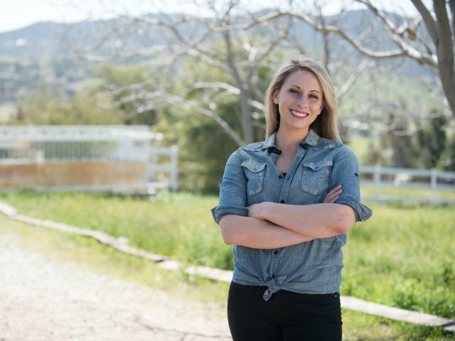 Democrat Katie Hill is running for California's 25th Congressional District.