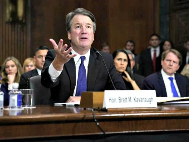 Kavanaugh says he might have been 'too emotional' in testimony