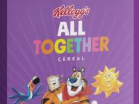 To support Spirit Day, the most visible anti-LGBTQ bullying campaign and united show of support for LGBTQ youth, Kellogg Company today launched a special edition 'All Together' cereal in collaboration with GLAAD supporting inclusion and to stand up against bullying. 'All Together' will be available today at Kellogg's NYC café.