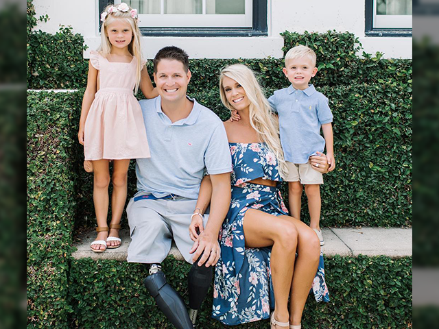 Brian Kolfage and family