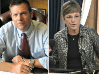 Kris Kobach, Laura Kelly