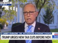 Kudlow: New Tax Cuts 'in the Planning Stage'
