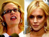 Kyrsten Sinema, Lindsay Lohan
