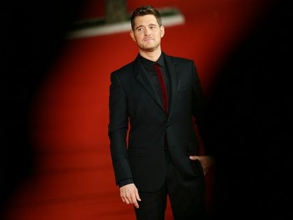ROME, ITALY - OCTOBER 14: Michael Buble walks a red carpet for 'Tour Stop 148' during the 11th Rome Film Festival at Auditorium Parco Della Musica on October 14, 2016 in Rome, Italy. (Photo by Ernesto Ruscio/Getty Images)