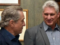 Actor Robert De Niro organized a celebrity meeting with Cuban dictator Raúl Castro's subordinate, Miguel Díaz-Canel, in New York this weekend.