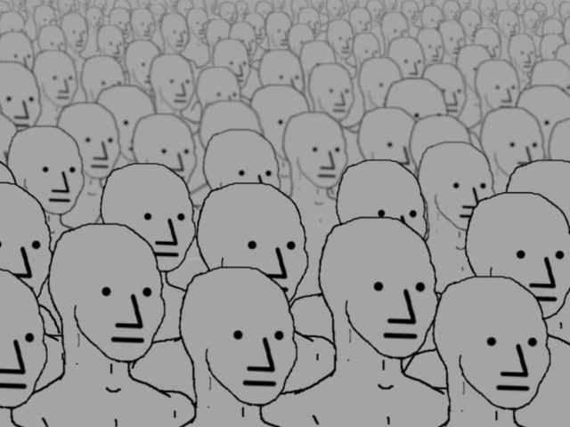 NPC meme sample